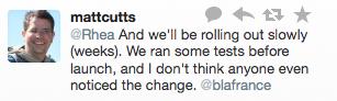 Matt Cutts on Google's Encrypted URLs