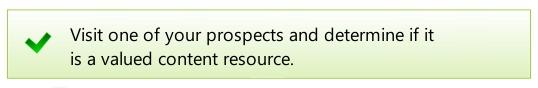 link prospecting audit