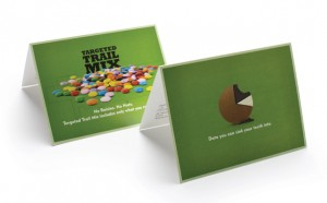 Chocolate mailer by omniture