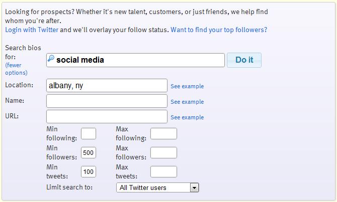 Follower Wonk Search