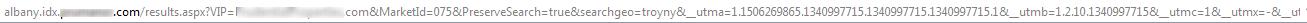 long search URL string