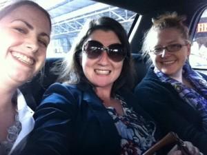 Amanda King, Pearl Higgins and Rhea Drysdale at SMX East 2012