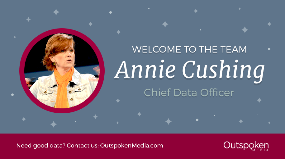 Annie Cushing Joins Outspoken Media as Chief Data Officer