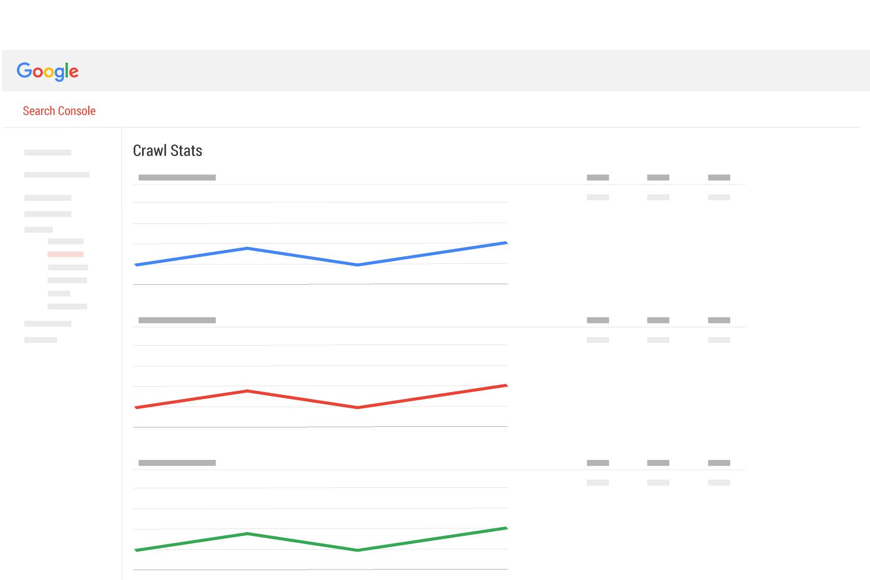 Google search console crawl stats page