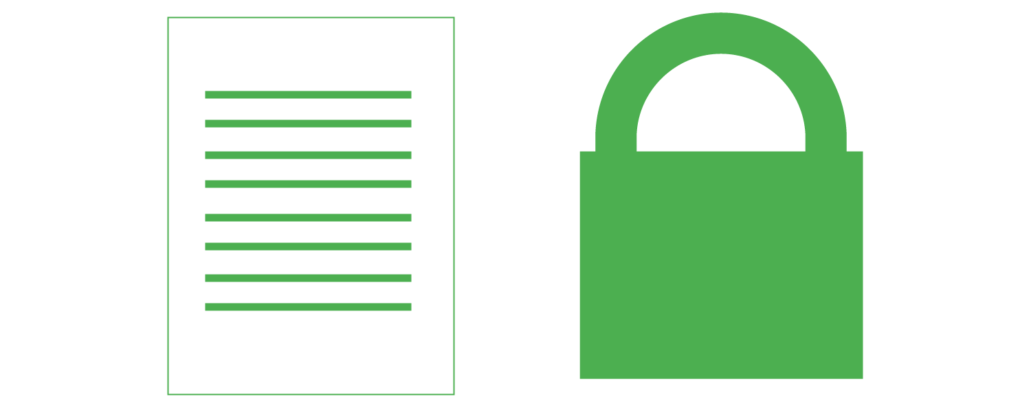 sitemap file and green lock